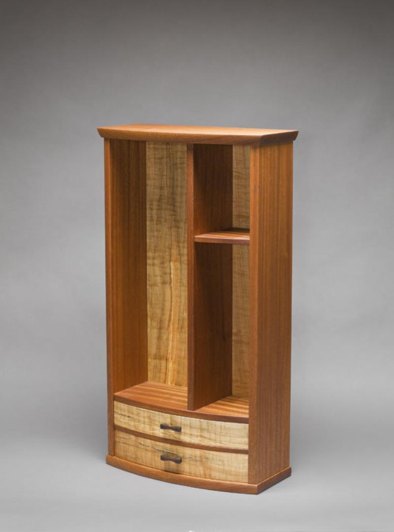 RW Display Cabinet in makore
