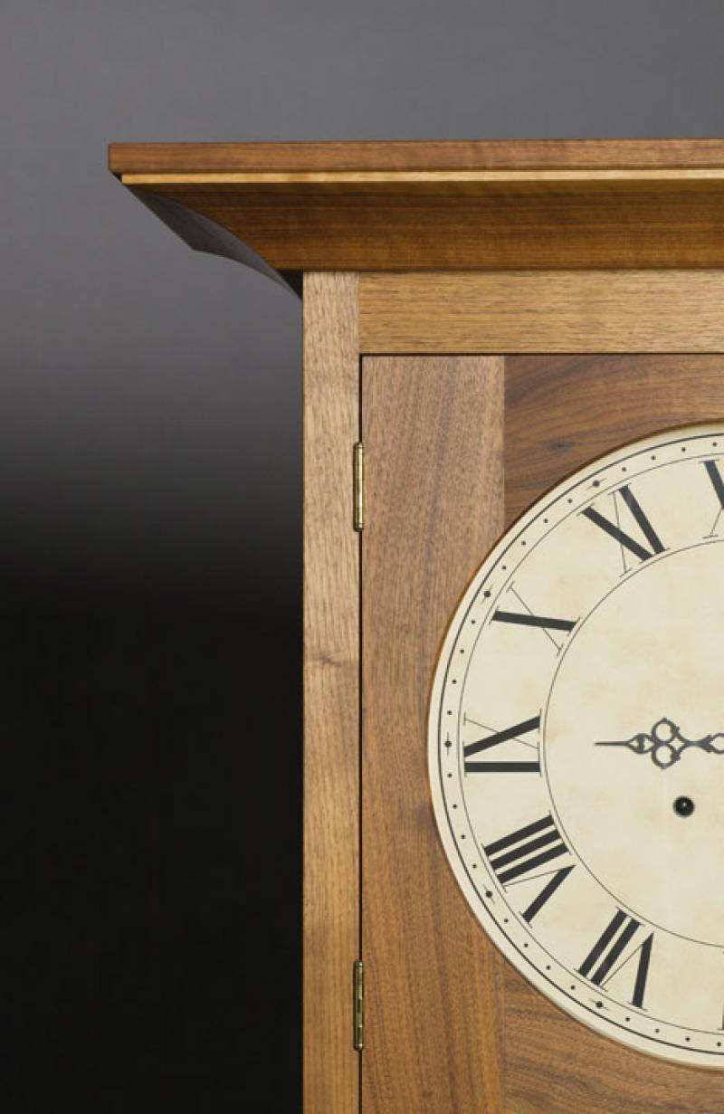 Photo of Craftsman Tall Clock by Fred Eiden
