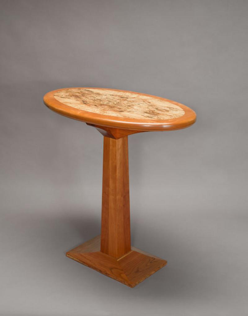 Elliptical Hall Table by Fred Eiden
